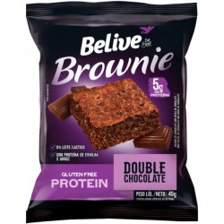 Brownie Protein Double Chocolate 40gr Belive